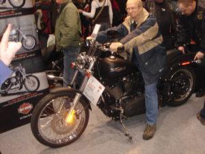 Eberhard auf Harley